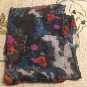 Accessories - Large multi colored scarf